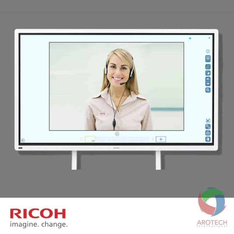 RICOH interaktiva videoskärmar